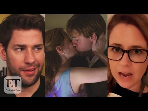 John Krasinski, Jenna Fischer On 'The Office' Kiss Debate