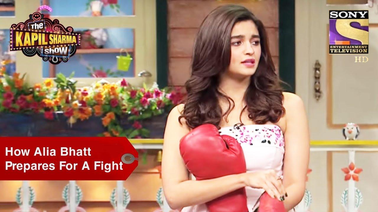 How Alia Bhatt Prepares For A Fight – The Kapil Sharma Show