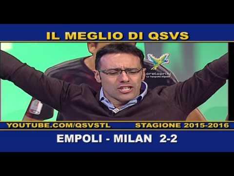 qsvs - i gol di empoli - milan 2 a 2
