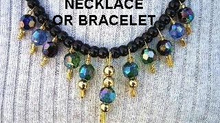 How to make a safety pin bracelet or necklace, diy, jewelry making, easy jewelry, repurpose, recycle, costume jewelry, beading, beads, GET YARN AND HOOKS HER...