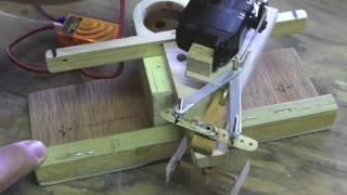 Kitchen Rudder Test Video