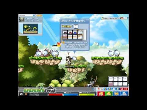 MapleStory Gameplay – First Look HD