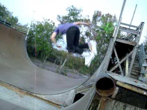Paradise Skatepark inline edit with Arlo Eisenberg skates