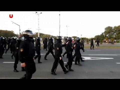 Μινσκ: Επεισόδια μετά την ορκωμοσία Λουκασένκο