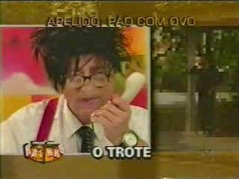 Trote do Santos - Bichinha Pão com ovo