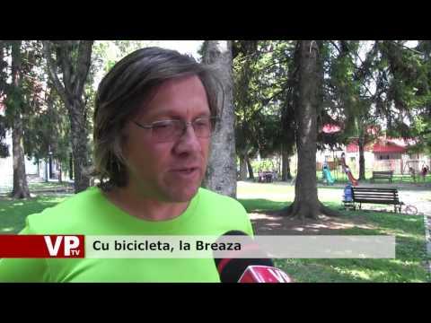 Cu bicicleta, la Breaza