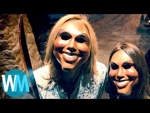 Another Top 10 Terrifying Horror Movie Masks (видео)