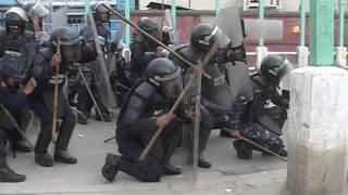 student fight with nepal police rr collage