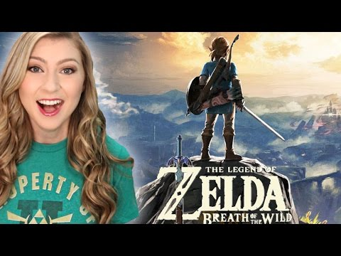 Legend of Zelda: Breath of the Wild NEW GAMEPLAY (видео)