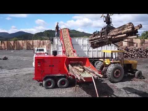 Picador Florestal Lippel, RAPTOR 900 - Produtividade indiscutivel.