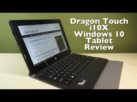 Dragon Touch i10X Windows 10 Tablet Review