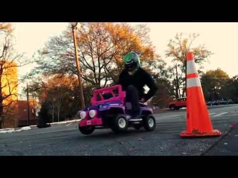 Next-Level Barbie Jeep Made By Georgia Tech Students