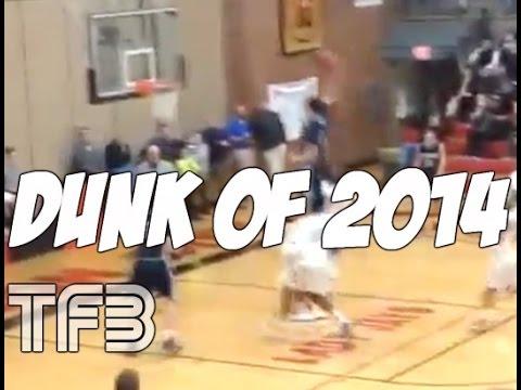 Vidéo : Incroyable dunk d'un jeune de 16 ans