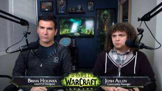 We sat down with Lead PvP Designer Brian Holinka for a live developer Q&A covering the community's World of Warcraft: Legion PvP related questions.We also learned more about the WoW Arena World Championship from Esports Team Manager Jeramy McIntyre.http://WorldofWarcraft.comSubscribe!http://www.youtube.com/subscription_center?add_user=WorldofWarcraft