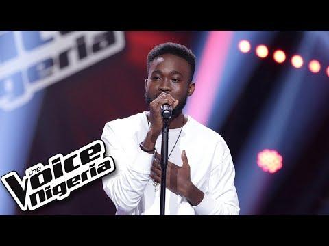 "Chris Rio sings ""Love don't lie"" / Blind Auditions / The Voice Nigeria Season 2"