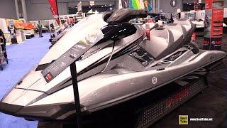 10. 2015 Yamaha WaveRunner FX Cruiser SHO Jet Ski - Walkaround - 2015 New York Boat Show