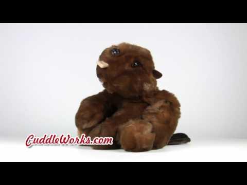 HD Stuffed Animal - Timber Stuffed Animal Beaver at CuddleWorks.com