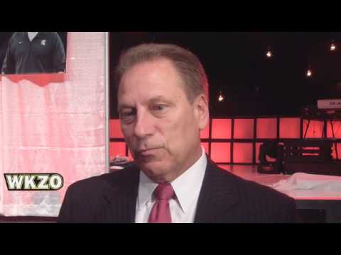 "Michigan State Basketball Coach Tom Izzo From ""Inspiring Youth To Dream"""
