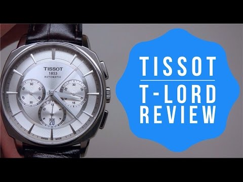 , title : 'TISSOT T-LORD AUTO CHRONOGRAPH MEN'S WATCH REVIEW MODEL: T0595271603100'