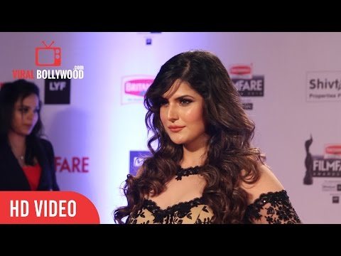 Zarine Khan at FilmFare Awards 2016 | Red Carpet | ViralBollywood