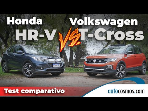 AÑADIR A LA COLA Test comparativo Honda HR-V vs. VW T-Cross