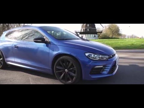2016 Volkswagen Scirocco R - The Little Brother of Golf R
