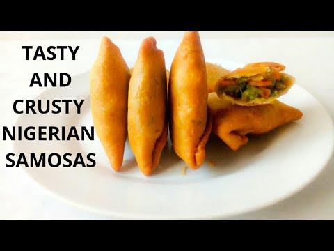 How To Make Nigerian Samosa | Best Nigerian Samosa Recipe