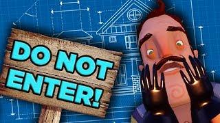 The ABSURD Physics of Hello Neighbor