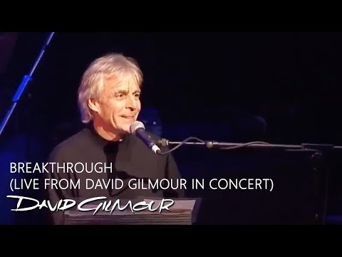 Richard Wright & David Gilmour: Breakthrough (Live  ...