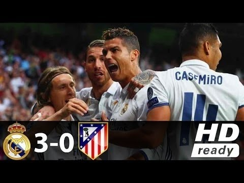 Real Madrid vs Atletico Madrid 3-0 - All Goals Highlights - Champions League 02/05/2017 HD