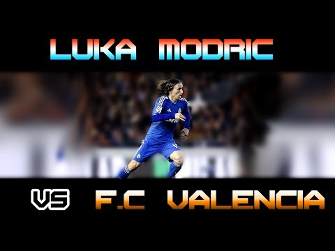 Luka Modric vs Valencia Away ( 22 - 12 - 2013 / 22/12/2013 -  22.12.2013 ) [HD] (видео)