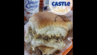 How to Make White Castle Sliders