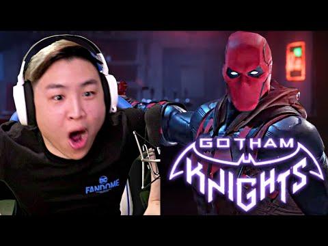 Gotham Knights - World Premiere Reveal Trailer!! [REACTION]