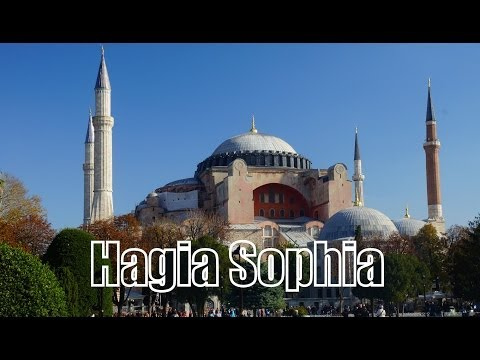 VIDEO: Visiting Hagia Sophia