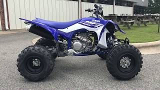 8. 2018 YFZ450R Team Yamaha Blue / White