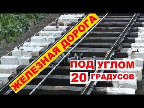 Рельсовая канатная дорога - Киев. Украина.