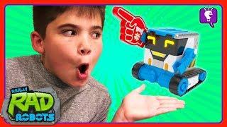 SPY, PRANK n' DANCE with MiBro the Really Rad Robot by HobbyKidsTV