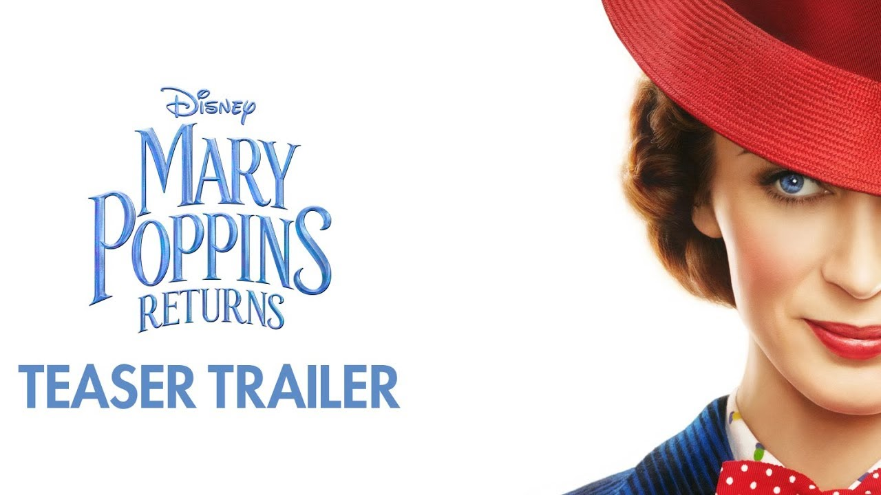 From above a New Story Begins. Watch Emily Blunt & Lin-Manuel Miranda in Disney's 'Mary Poppins Returns' (Teaser Trailer)
