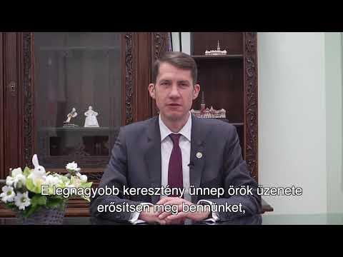 Dr. Pásztor Bálint, Szabadka város Képviselő-testülete elnökének húsvéti üdvözlete-cover