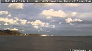 7 November 2014 - Aberdour WeatherCam Timelapse