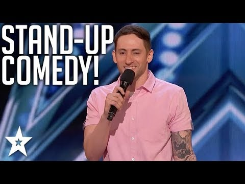 Comedian With Tourette Syndrome Owns Stage | America's Got Talent | Magicians Got Talent