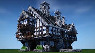 Minecraft Medieval House Upgrades Speedbuild Timelapse