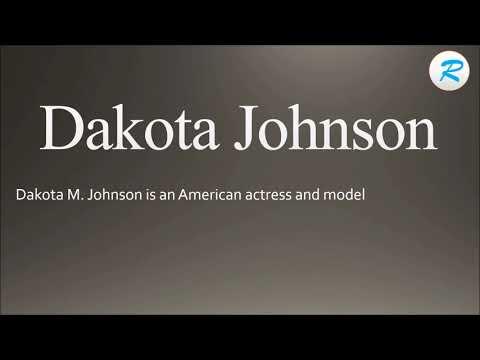 How to pronounce Dakota Johnson   Dakota Johnson Pronunciation   Pronunciation of Dakota Johnson