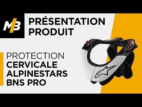 Protection cervicale Alpinestars BNS PRO, avis en vidéo par Motoblouz