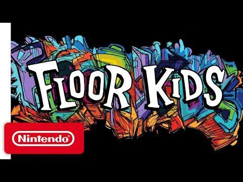 Floor Kids Release Date Trailer - Nintendo Switch