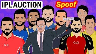 IPL Auction 2019 Spoof