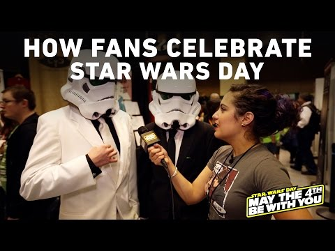 Here's What Star Wars Fans Have Planned For Today (May the 4th)