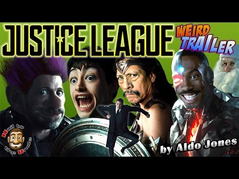 A Hilariously Weird Parody of the Justice League