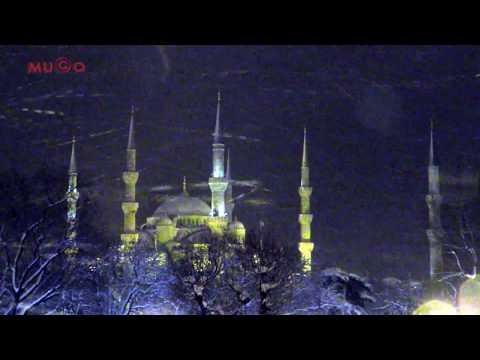 Sultan Ahmet Cami - İstanbul'da Kar ve Manzara