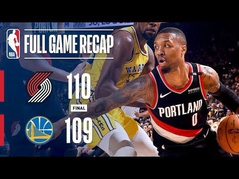 Video: Full Game Recap: Trail Blazers VS Warriors | Portland Wins OT Thriller!